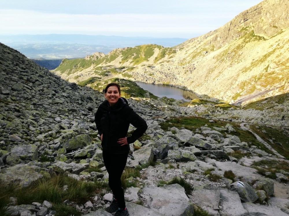Czarny szlak ze Świnickiej Przełęczy do Doliny Gąsienicowej